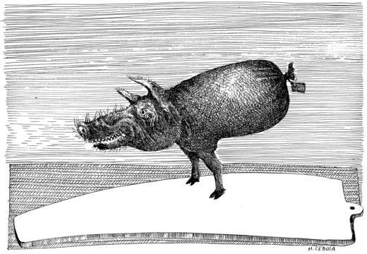 Henryk Cebula: Świnka